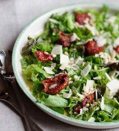 Salaatti Hristinan tapaan   Kodin Kuvalehti Vegetarian Recepies, Cobb Salad, Sprouts, Salads, Food And Drink, Cooking Recipes, Baking, Vegetables, Food Food
