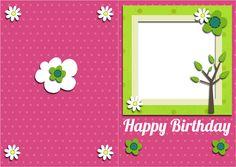 print a birthday card online free