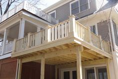 Arlington Wood Deck