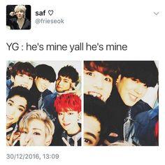 Yugyeom Jungkook, Got7, Jhope, Jimin, Jin Dad Jokes, Korean People, Bts And Exo, Rap Monster, My Chemical Romance