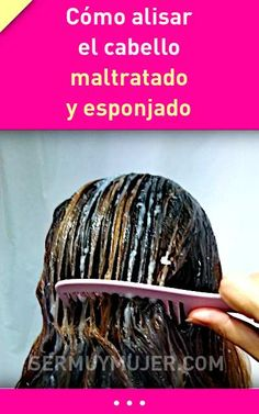 How to straighten battered and fluffy hair Easy and only 2 ingredients! Diy Beauty, Beauty Hacks, Fluffy Hair, Hair Hacks, Easy Hairstyles, Hair Care, Hair Color, Dreadlocks, Make Up