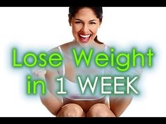 How Long To Achieve Weight Loss : How to Lose Weight in A WEEK | Effective Diet to Lose Weight in a Week