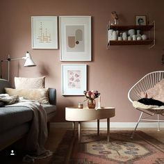 26 dusty pink bedroom walls you will love it 15 Dusty Pink Bedroom, Pink Bedroom Walls, Pink Bedroom Decor, Master Bedroom Interior, Pink Bedrooms, Pink Room, Bedroom Colors, Bedroom Bed, Modern Bedroom