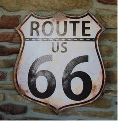 Route 66 Shield | A Simpler Time