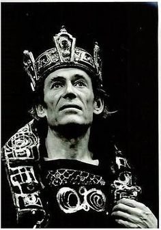 Peter O'Toole in the title role of Shakespeare's Macbeth at the Old Vic (1980)