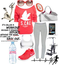 """@Trevalyn Pearlman Pearlman Pearlman Pearlman Pickering """"Workout Outfit"""" by calilove31 on Polyvore"""