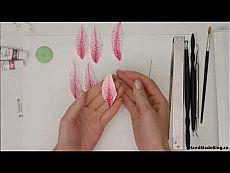 Мастер-класс: Брошь «Реалистичная и нежная Лилия» из полимерной глины - YouTube