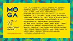 All about MOGA Festival and all the best music festivals around the world, including news, lineups, locations and tickets! Festival Flyer, Festivals Around The World, Good Music, Jokes, Music Festivals, Flyers, African, Chistes, Ruffles