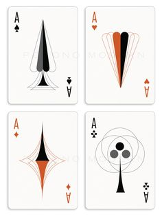 The Retro Deck - Playing Cards by Pocono Modern by Kraig Kalashian — Kickstarter