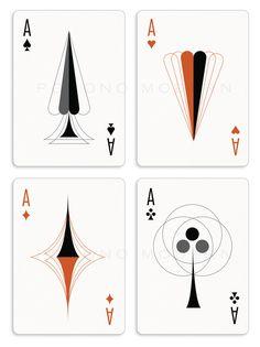 The Retro Deck- Pocono Modern Playing Cards | RELAUNCH by Kraig Kalashian — Kickstarter
