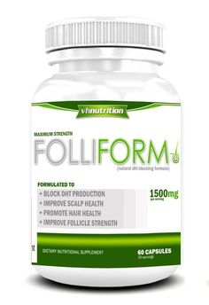 Folliform DHT Blocker for Men and Women | Twin Pack | Natural Hair Regrowth Treatment *** Quickly view this special  product, click the image : Hair Loss
