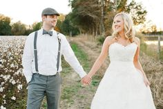 Couple At Southern Wedding: I don't care what he says, my future husband will wear a bowtie haha :) Wedding Gowns Online, Wedding Dresses, Wedding Shoot, Dream Wedding, Field Wedding, Georgia Wedding Venues, Rustic Wedding Photos, Wedding Pinterest, Southern Weddings