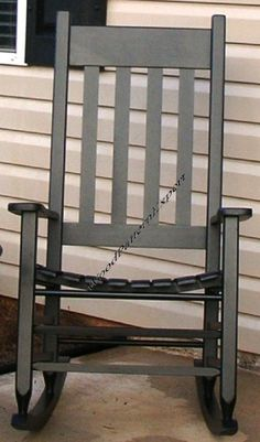 I want a white rocking chair from Cracker Barrell for just like this to put on my porch. I am so jealous my neighbor has one and reads there.  Seems like a heavenly idea to me!