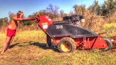Trenching With The Ditch Witch 1330 Trencher | Homestead Kids
