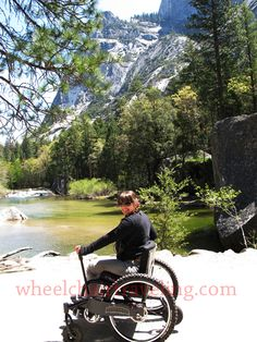 #Hiking #wheelchair and #Access2Parks. Let's roll! wheelchairtraveling.com.