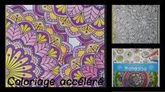 Carnet de coloriages Mandalas - Coloriage n°2 accéléré #coloriage #mandala #arttherapie