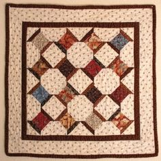 Cute little spool quilt. by clarissa