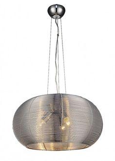 Meda - Stropní osvětlení, 2884 (stříbrná) | Jena nábytek