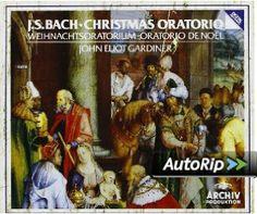 Amazon.com: Bach - Christmas Oratorio / Gardiner: Music