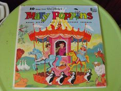 Vintage 1964 Walt Disney Mary Poppins Soundtrack 33 RPM Vinyl Record by peacenluv72 on Etsy