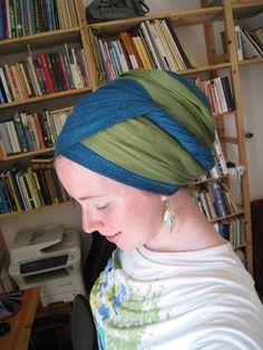 Two Scarf Yael Wrapunzel Hair Wrap Scarf, Head Scarf Tying, Summer Wraps, Bad Hair Day, Head Wraps, Head Coverings, My Style, Head Scarfs, Scarves