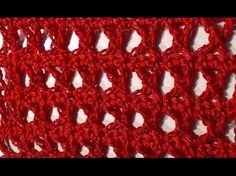 TUTORIAL N° 1 PUNTO X ALL'UNCINETTO - CROCHET - YouTube