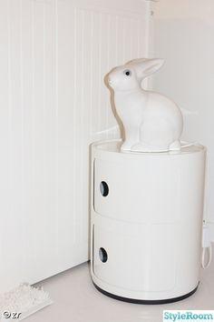 kartell componibili, kanin lampa
