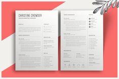 Minimalist Resume by Astut on Student Resume Template, Modern Resume Template, Creative Resume Templates, Cover Letter For Resume, Cover Letter Template, Resume Design, Brochure Design, Cv Design Template, Creative Jobs