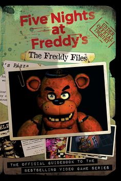 FNAF Five Night's at Freddy's | The Freddy Files | Official Guidebook of the game