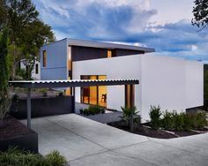 Minimalist concrete carport design ideas home design inspiration 7
