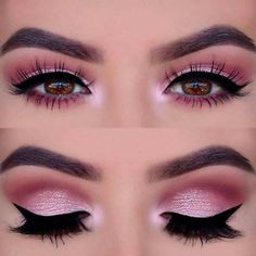 Pageant and Prom Makeup Inspiration. Find more beautiful mak.- Pageant and Prom Makeup Inspiration. Find more beautiful makeup looks with Pagea… Pageant and Prom Makeup Inspiration. Find more beautiful makeup looks with Pageant Planet. Pink Smokey Eye, Smoky Eye Makeup, Black Smokey, How To Smokey Eye, Hazel Eye Makeup, Makeup Hacks, Eye Makeup Tips, Makeup Ideas, Makeup Tutorials