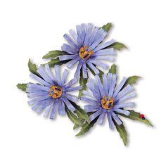 Sizzix+Thinlits/Framelits+Die+Set+8PK+-+Flower,+Aster++659255+#Sizzix