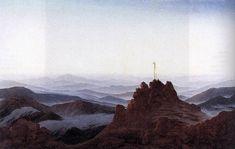 Morning in the Riesengebirge From Caspar David Friedrich