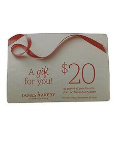 James Avery Coupon Exp 9/28/20 $20 Off $20 Purchase In Store Or Online... James Avery, 20 Off, Coupon Codes, Coupons, Place Card Holders, Store, Gifts, Presents, Coupon