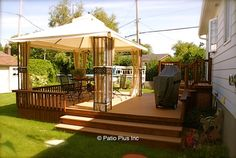Patio Plus - Treated wood Deck