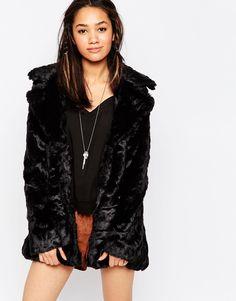 Brave Soul Faux Fur Jacket