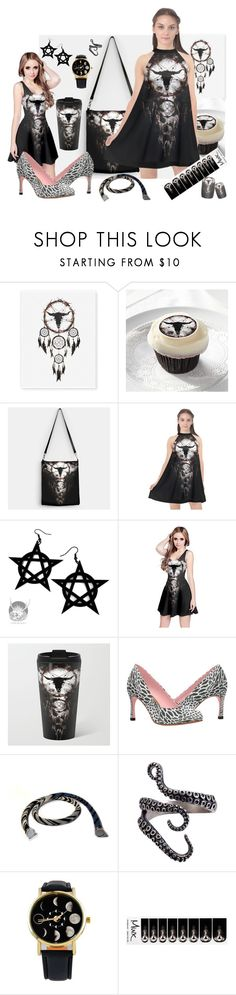 """""""LITTLE BLACK DRESS (LBD) CONTEST"""" by cglightningart ❤ liked on Polyvore featuring Curiology and MINX"""