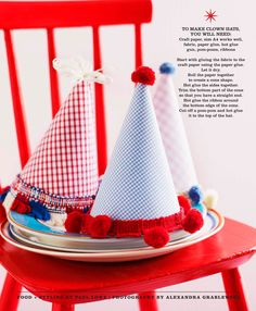 Circus Birthday Party Sweet Paul Magazine - Spring 2010 - Page Birthday Clown, Clown Party, Birthday Party Hats, 1st Birthday Photos, Birthday Ideas, 3rd Birthday, Happy Birthday, Vintage Circus Party, Circus Theme Party