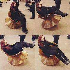 Spun u003d FUN. Our designer tries out the Spun Chair on a recent trip to & 45 best Color My Office images on Pinterest | Office designs Design ...