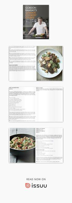 Gordon Ramsay - Ultimate cookery course Gordon Ramsey, Make It Simple, Magazines, Ebooks, Platform, Author, Digital, Cooking, Food