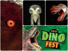 Dinofest collage