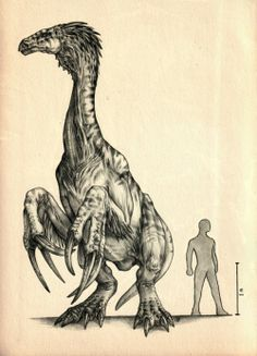 OH MY GOD WHAT THOSE ARMS THOSE ARRRMS #Therizinosaur #dinosaur