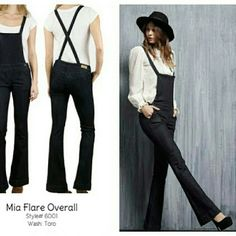 Awesome Hart jeans Mia overalls These are so cool and on trend  Great fitted leg that flares out with a nice e amount of stretch. Dress up or down, looks fantastic with platforms. Size medium but I would say will fit a 4/6 hart Pants Jumpsuits & Rompers