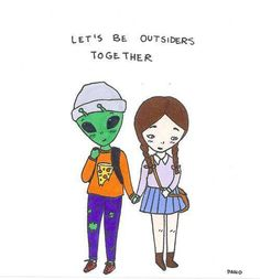 let's be outsiders together