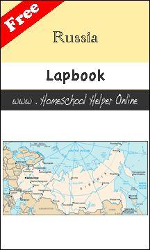 Homeschool Helper Online's Russia Lapbook