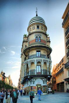 "Edificio ""La Adriática"", Seville, Spain"
