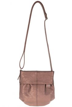 Frauentaschen :: MADEMOISELLE :: M5   ZWEI  Taschen Handtasche :: copper :: kupfer :: vegan