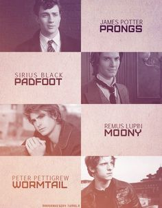Day 8- I adore the Marauders and it's super hard to pick a favorite.... Remus Lupin