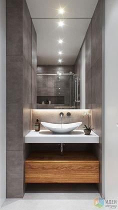 New bathroom vanity decor ideas guest Ideas Modern Bathrooms Interior, Bathroom Design Luxury, Modern Bathroom Decor, Modern Bathroom Design, Small Bathroom, Bathroom Pink, Bathroom Vanity Decor, Bathroom Layout, Washbasin Design