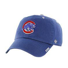 Chicago Cubs - Logo Clean Up Adjustable Royal Baseball Cap   OldGlory.com